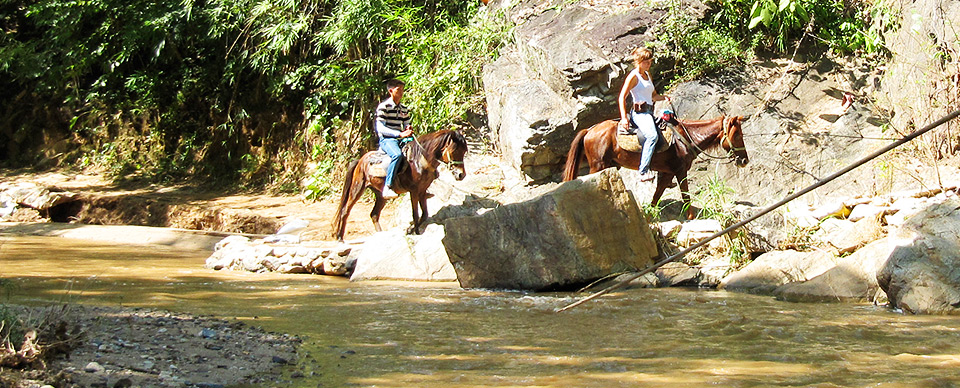 Horseback riding Thailand